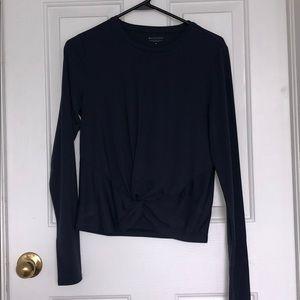 Athleta Navy Blue Long Sleeve size Medium